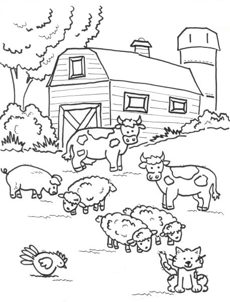حيوانات للتلوين للأطفال 2017, رسومات تلوين للأطفال 2018 تلو%D