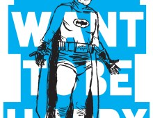 Batman Poster / Super Precious