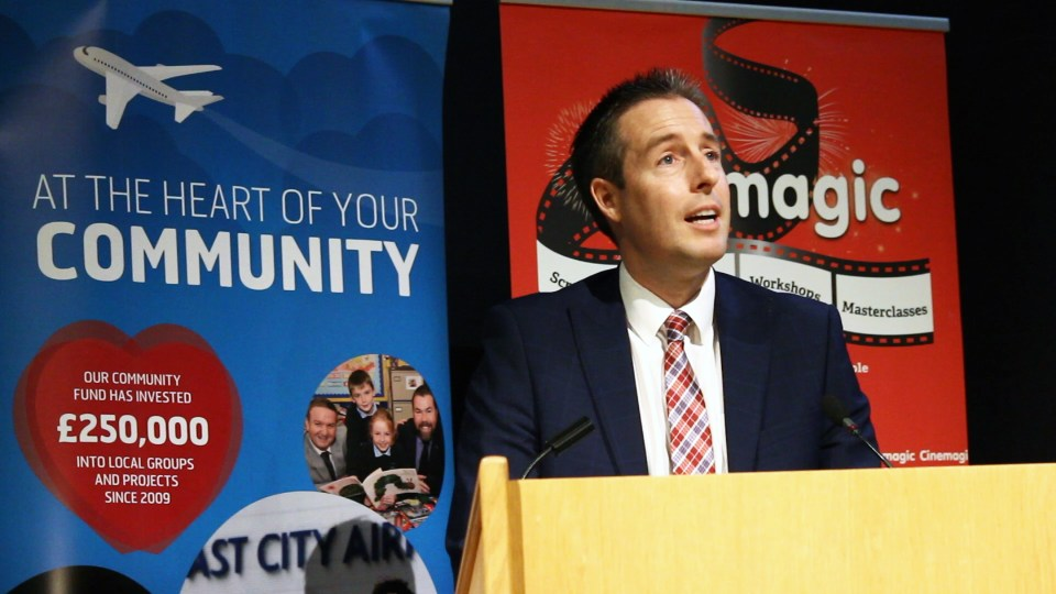 Paul Givan - Minister for Communities