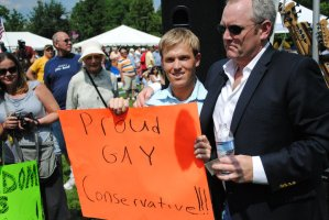 Andrew Breitbart, Gay Hero?