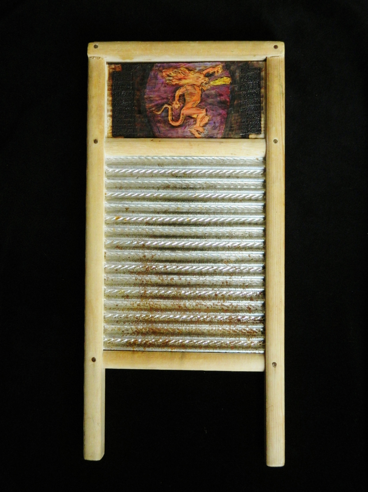 Will's washboard.