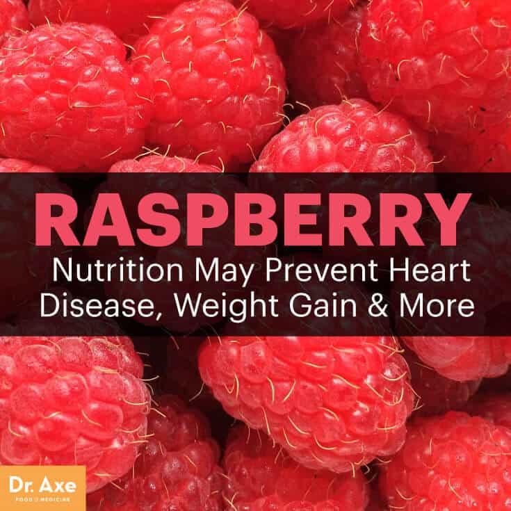 Raspberry nutrition - Dr. Axe