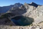 Pothole Lake and Unnamed Pinnacle