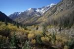 View down toward Emerald Lake