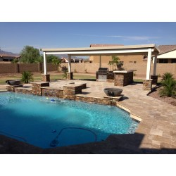 Small Crop Of Backyard Landscape Ideas With Pool