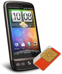 HTC Desire SIM-Unlock
