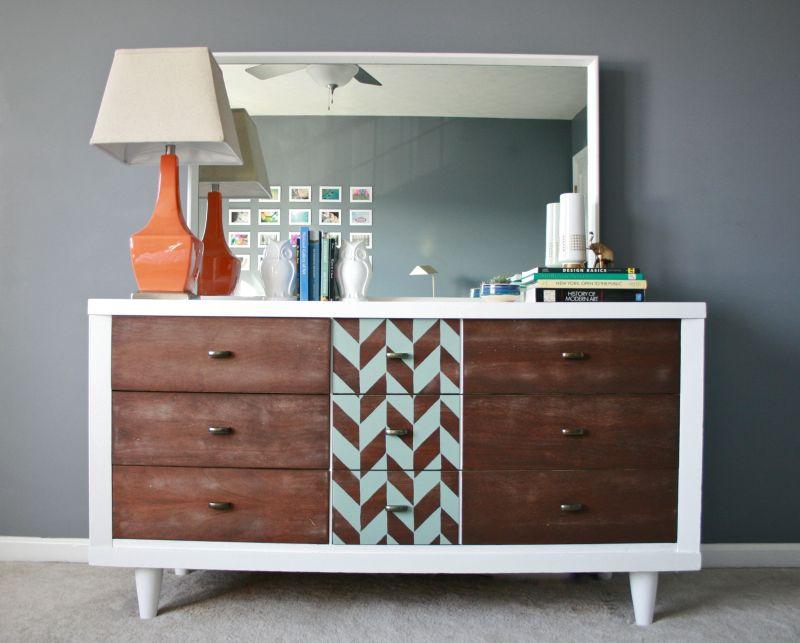Large Of Mid Century Modern Dresser