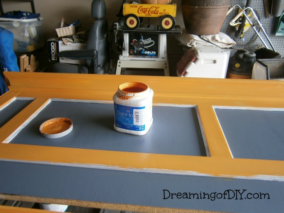 Orange Paint, Sherwin Williams
