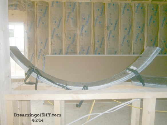 Drywall and kitchen arches