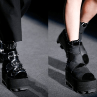 NYFW: Alexander Wang Shows Platform Moon Boots