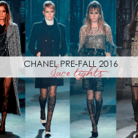 Fashion: Chanel Pre-Fall 2016 Lace Inspired Tights