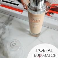BEAUTY : L'Oreal True Match Lumi Foundation Review