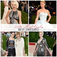 FASHION: Best Dressed at the 2016 Met Gala