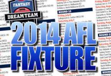 AFL Fantasy and the 2014 AFL Fixture