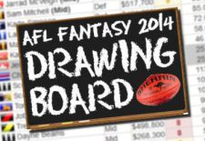 """Drawing Board"" – AFL Fantasy 2014 Team Picker"