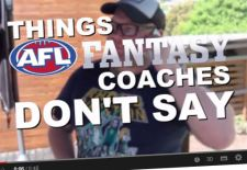 Things AFL Fantasy Coaches Don't Say