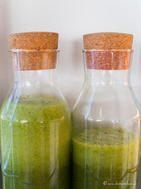 dreiraumhaus bauknecht kuehlschrank kühlkombi kuehlkombigruene smoothies rezept KGNF 18K A3+ IN