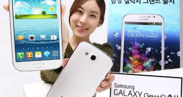Samsung Galaxy Grand ha sido anunciado en Corea