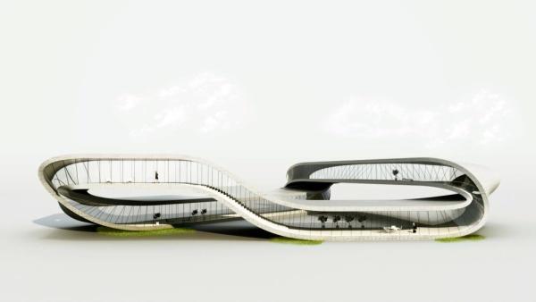 edificio impreso en 3d