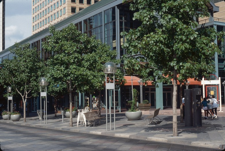 11-The 16th Street Mall trees in 1988. Photo credit Tom Perry