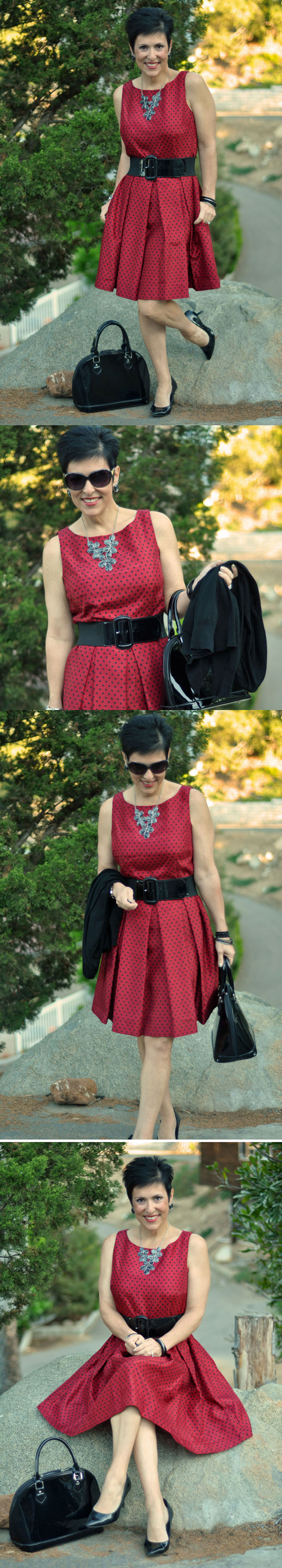 Red-with-Black-Polka-Dots