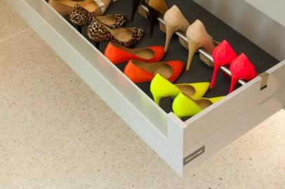 dressings met schoenenlade voor pumps en schoenen