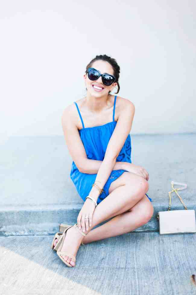Dress Up Buttercup // A Houston-based fashion and inspiration blog developed to daily inspire your own personal style by Dede Raad | Strappy Sundress