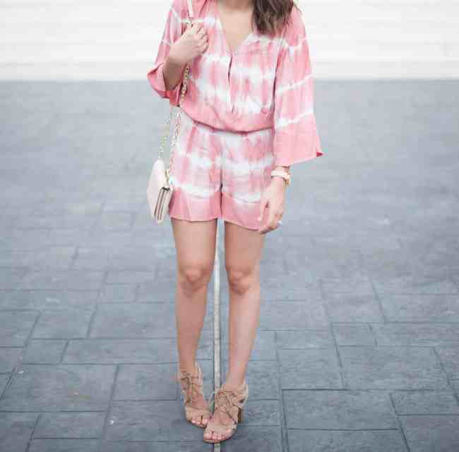 Dress Up Buttercup // A Houston-based fashion and inspiration blog developed to daily inspire your own personal style by Dede Raad | Tie Dye Romper