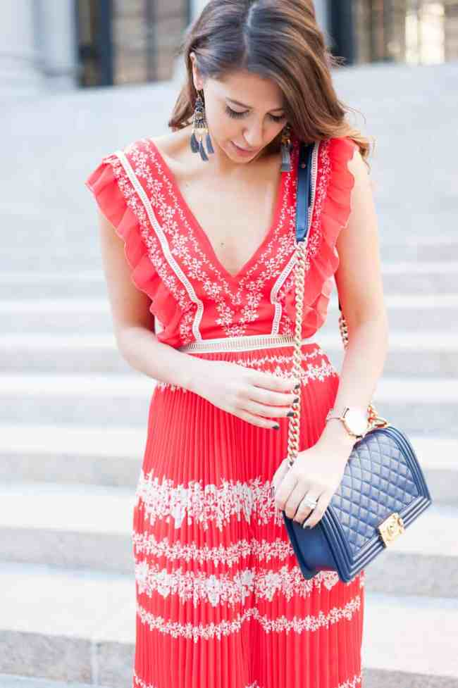 Dress Up Buttercup // A Houston-based fashion travel blog developed to daily inspire your own personal style by Dede Raad | Red Dress Party
