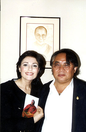 Dr. Gross and Soygal Rimpoche
