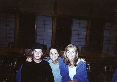 Lyn Lear, Dr. Gross and Lyn Lear's sister Diane