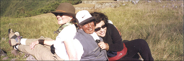 Don Manuel and Dr. Gross at Machu Picchu (the Inca)