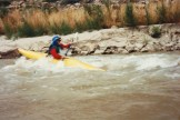 Dr. Gross Kayaking down the Green River
