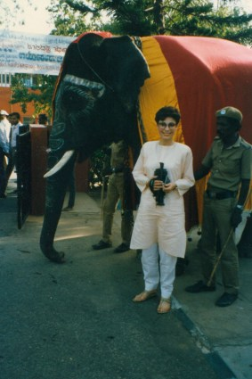 Dr. Gross in India