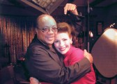 Dr. Gross and Quincy Jones