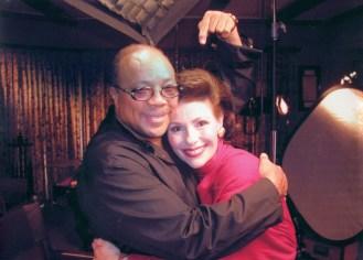 Dr. Gross and Quincy Jones