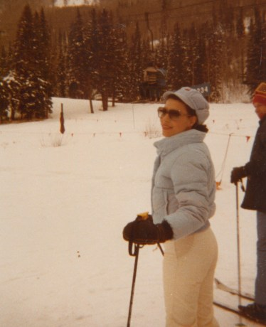 Dr. Gross skiing in Vail, Colorado