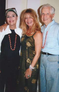 Dr. Gross, Goldie Hawn, Dr. G's Husband Jenard in India