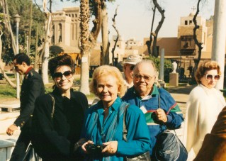 Dr. Gross, Mary Grace and Frank Horlock in Egypt