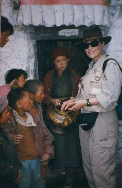 Dr. Gross in Tibet