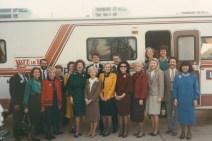 Dr. Gross, BA Bentsen, Charlie Wilson – BA Bentsen Campaign Bus Tour