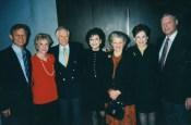 Michael York and his wife Patricia, Jenard Gross and Dr. Gross, Carolyn Hunt, Alma Gildenhorn and her husband Ambassador Joe Gildenhorn