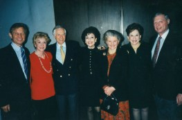 Michael York and his wife Patricia, Jenard Gross and Dr. Gross, Carolyn Hunt, Alma Gildenhorn and her husband Ambassador Joe Gildenhorn