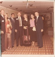 Eileen and Gerald Eastham, Unknown person, George Strahan (Member of Board of Governors of the Federal Reserve)