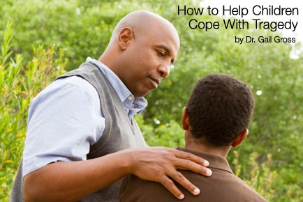 How To Help Children Cope With Tragedy - PHOTO