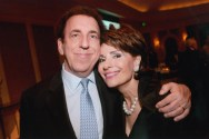 Dr. Gail Gross with Dr. Dean Ornish at the 2013 Jung Center Benefit Event