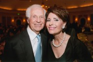 Dr. Gail Gross and husband Jenard Gross at the 2013 Jung Center Benefit Event