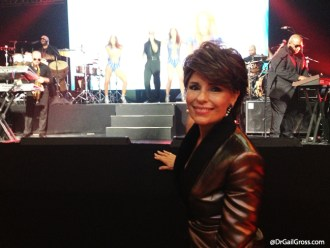 Dr. Gail Gross attends GoDaddy CEO Bob Parsons' anniversary party, 2013.