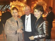 Dr. Gail Gross with former Vice President Dan Quayle and his wife Marilyn, 2013.