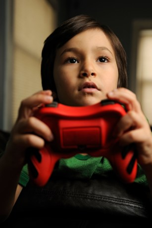 boys technology video games
